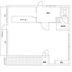 看板効果あり!?カフェ等にもオススメ/小倉南区北方空き店舗【バー居抜き】