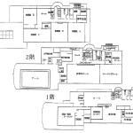 施設一棟貸!駐車場は15台分無料八幡西区岸ノ浦(元スポーツクラブ)(間取)
