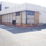 国道3号線沿い【1階飲食店相談可】前面ガラス張り空き店舗/小倉北区上到津
