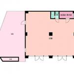 モノレール・国道沿い【1階角地】バス停徒歩約1分/小倉南区徳力P無料空き店舗(外観)