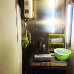 ビビッド調のポップな内装・カウンターのみ約5坪/小倉北区鍛冶町【バー居抜き】(内装)