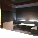 【バー・スナック居抜き】ブラックとレッド調のクールな内装/八幡西区黒崎