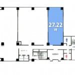 【事務所・店舗】約27坪でコンパクトなオフィスに! ワンランク上のオフィスに移転をお考えの方にピッタリ!/小倉北区紺屋町(周辺)